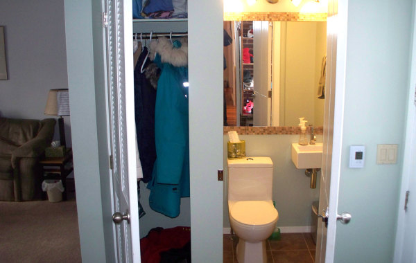 Fort Garry Bathroom & Closet