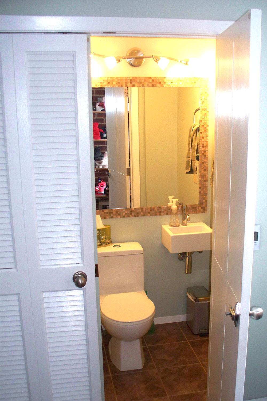 Fort garry bathroom closet oswald construction for Bathroom closet